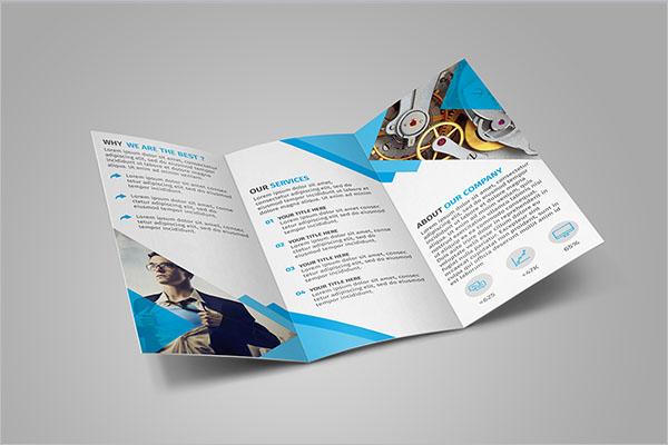 Retro Tri-Fold Brochure Template