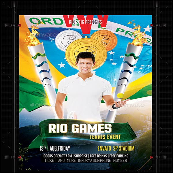 Rio Olympic flyer