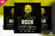 Rock Party Flyer Design