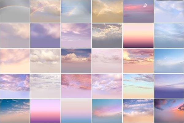 Romantic Sky Texture