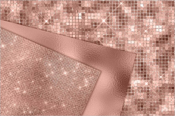 Rose Gold Digital Paper Background