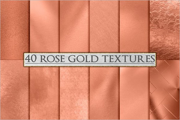 Rose Gold Foil Background Design