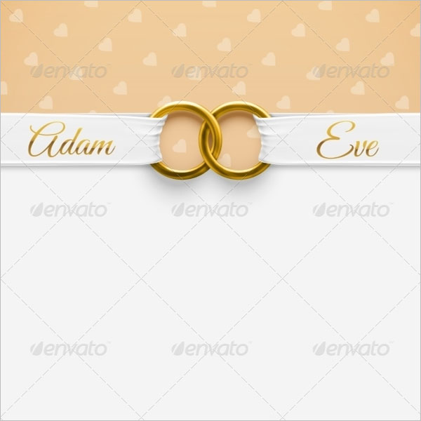 Rustic Wedding Inivation Background