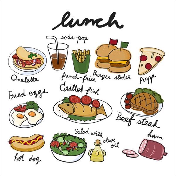Sample Food Icon Design