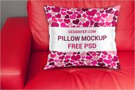 Sample Pillow Cover Mockup