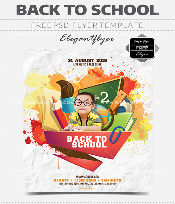 Sample Printable Flyer Templates