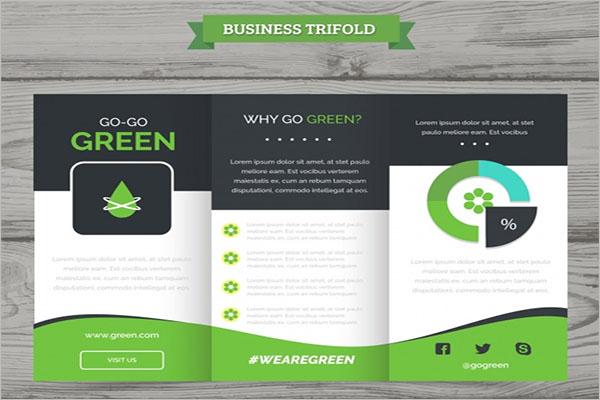 SampleTri-Fold Brochure Template
