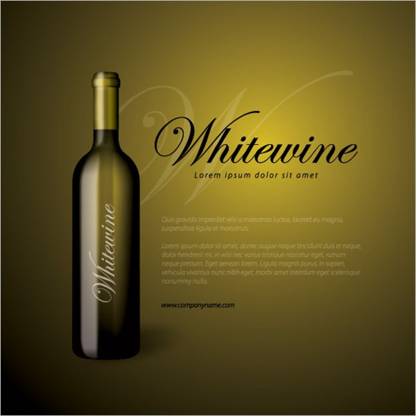 Sample Wine Flyer Design