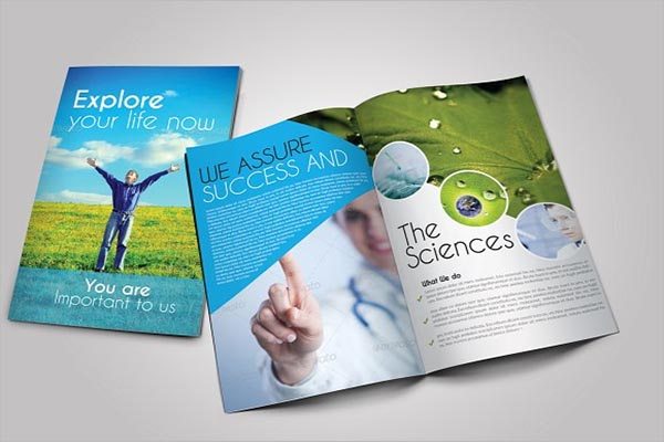 Scientific Medical Trifold Brochure