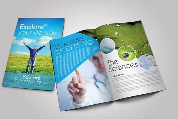 Scientific Medical Trifold Brochure