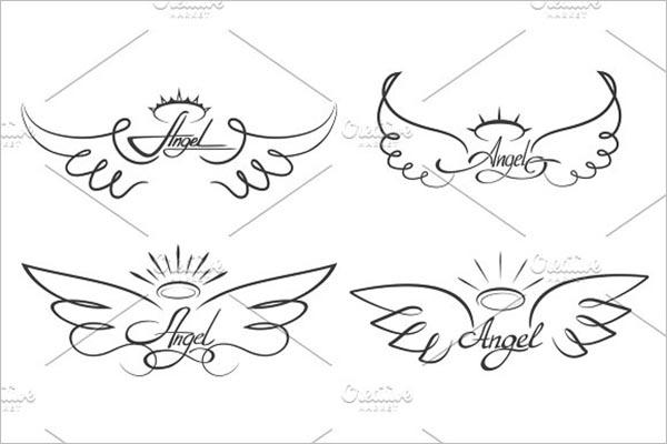 Set Of Tattoo Icon Design