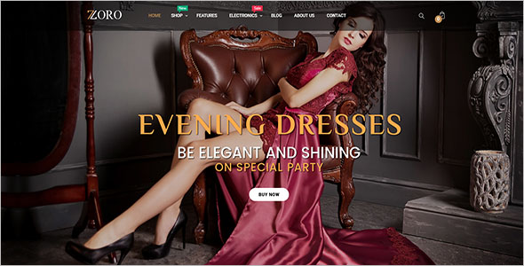 Shopping PrestaShop 1.7 Theme