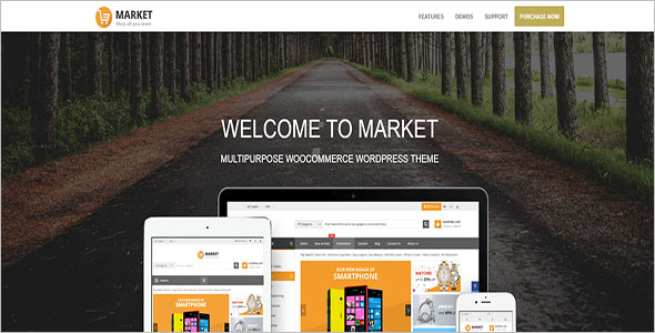 Shopping WooCommerce WordPress Theme