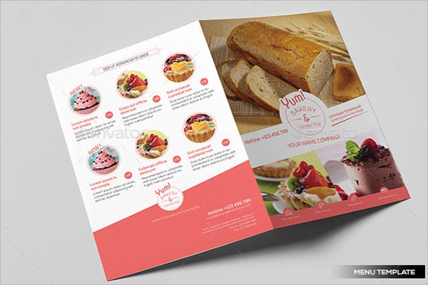 Simple Bakery Poster Template