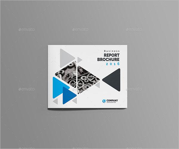 Simple Landscape Brochure Template