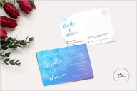 Simple Wedding Invitation Background