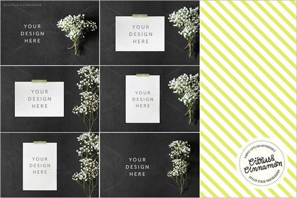 Simple Wedding Invitation Cards Background