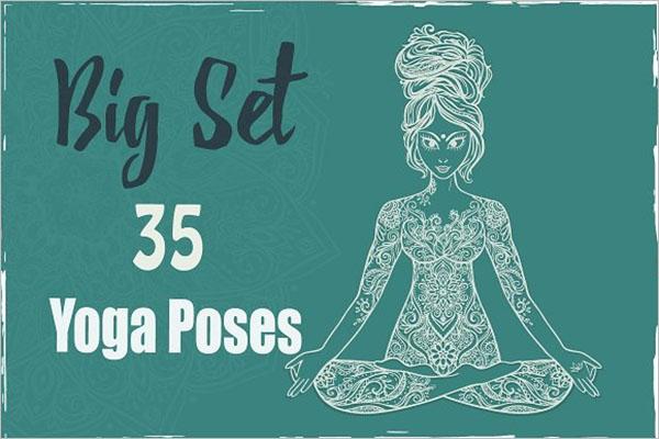 Simple Yoga Poster Design