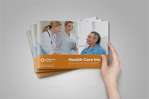 Sleek Medical Brochure Design