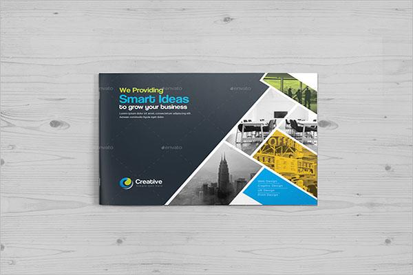 Smart Landscape Brochure Template