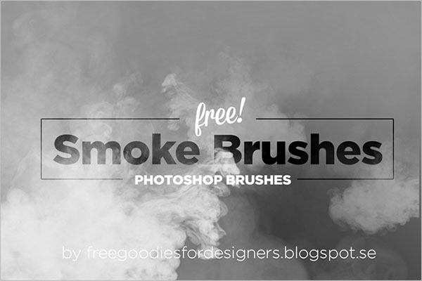 Smoke Brushes Photoshop Free Download