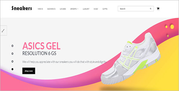 Sneakers Opencart Template