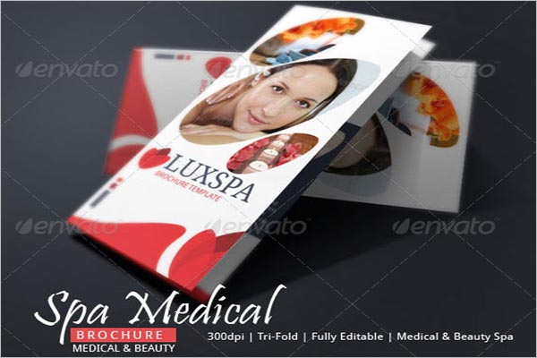 Spa Medical Brochure Design