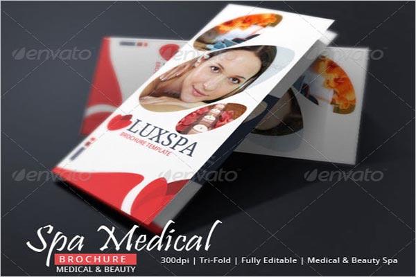 Spa Medical Brochure Design