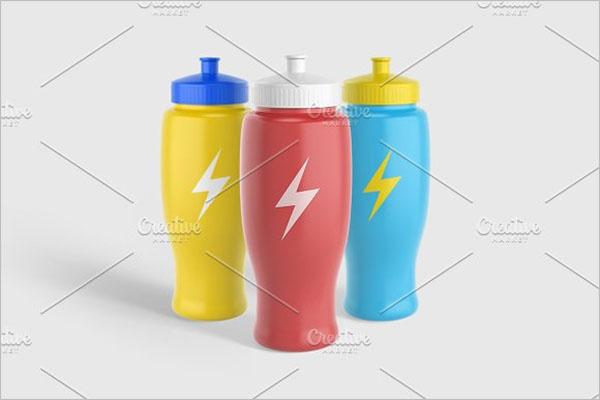 Sport Water Bottle v2 Mockup