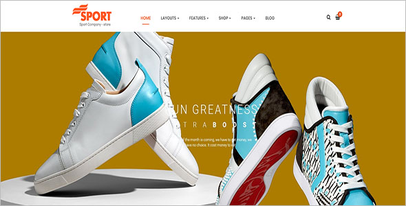 Sport eCommerce OpenCart Theme