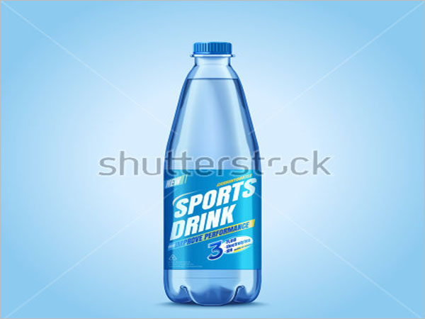 Sports Bottle Mockup Free Download