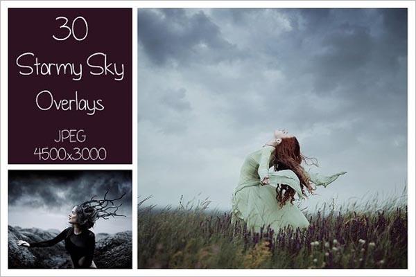 Stormy Sky Texture