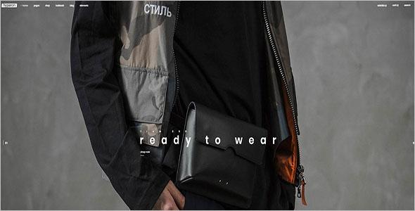 Streetwear WooCommerce Theme