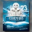 Subzero Winter Flyer Template