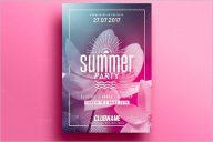Summer Flyer Design