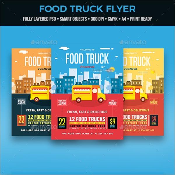 Super Food Truck Template