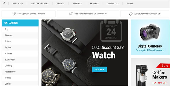 Super Store OpenCart Template