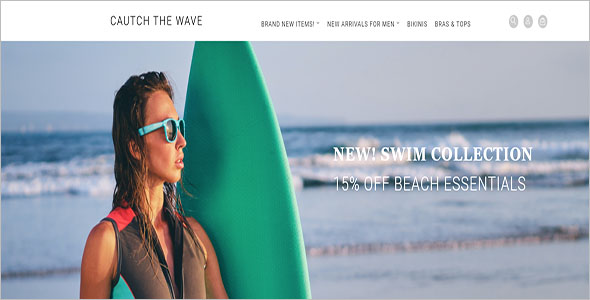 Swimwear OpenCart Template
