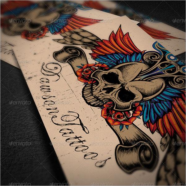 Tattoo Artist Business Card Design