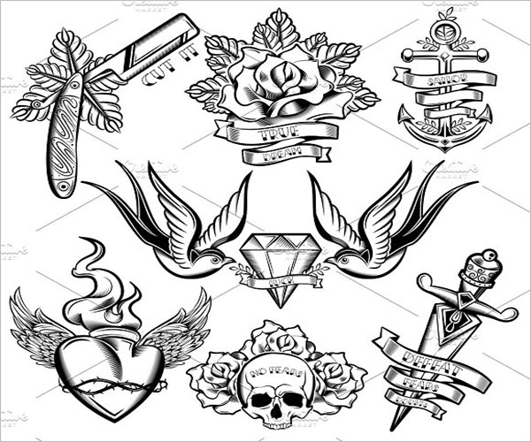 Tattoo Icon Design PNG