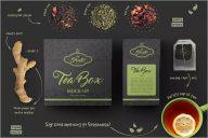 Tea Box Mockup PSD