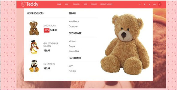 Teddy Prestashop Theme