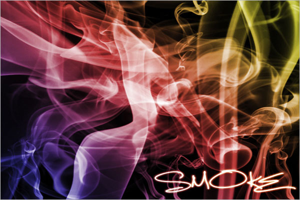 Thick Smoke Brushes Photoshop