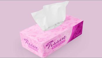 Tissue Paper Mockup Designs