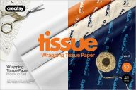Tissue Paper Mockup Template