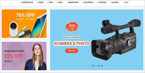 TopSell eCommerce Opencart Template