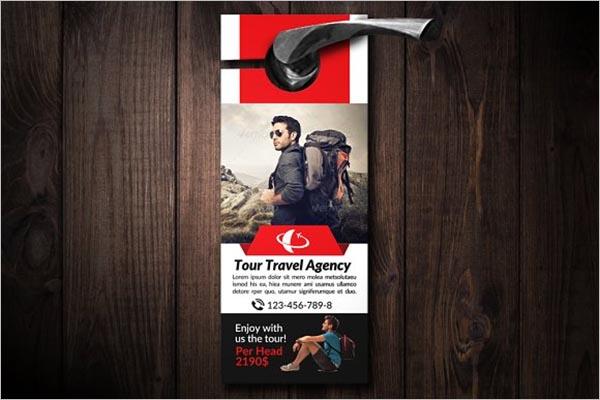 Tourism Agency Door Hanger
