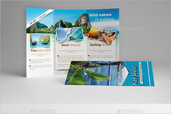 Tourism Brochure Template