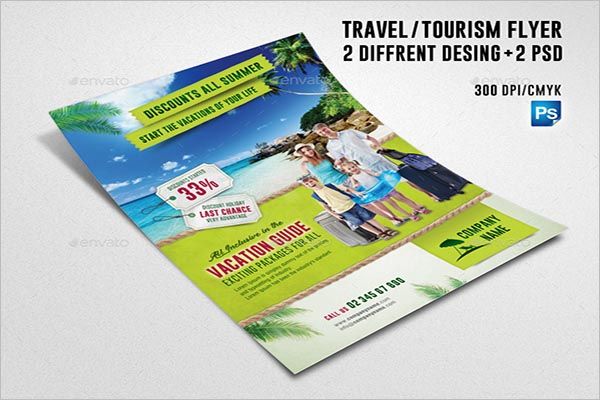 Tourism Guide Flyer Design