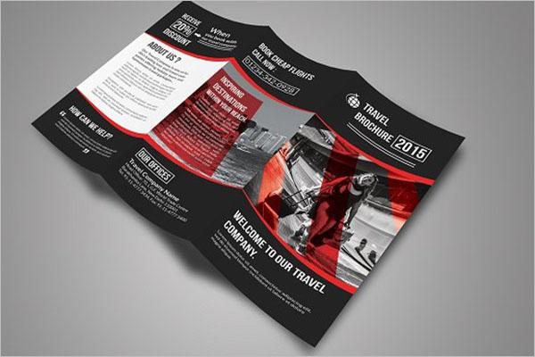 Tourist Travel Brochure Example